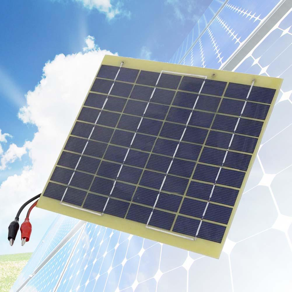 Solar Cell Panel 5 Watt 12Volt For Car Battery Trickle Charger Backpack Power