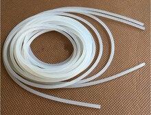 Transparent Diameter 5-10mm 10Meters Solid Silicone Sealing Strip Anti-aging Heat-resistance Light Box Seal Strip