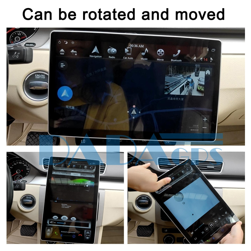 Autoradio multimédia universel 2 Din   style Tesla Android pour MITSUBISHI Lancer Outlander Pajero GPS, Navi chef unité Audio stéréo