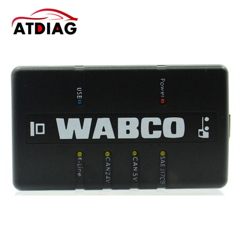 2018 nuevo Kit de diagnóstico WABCO (WDI) Interfaz de diagnóstico de remolque y camión WABCO envío gratis