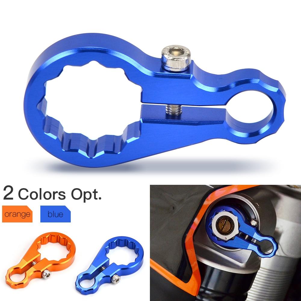 Amortiguador trasero, herramienta de ajuste de compresión para Husaberg Husqvarna TE FE TC FC TX FX FS 125 150 250 250i 300 300i 350 S 450