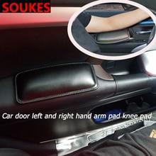 Support de genouillère de protection daccoudoir de main droite gauche de porte de voiture pour Honda Civic 2006-2011 Accord Fit CRV HRV City Jazz Subaru Forester
