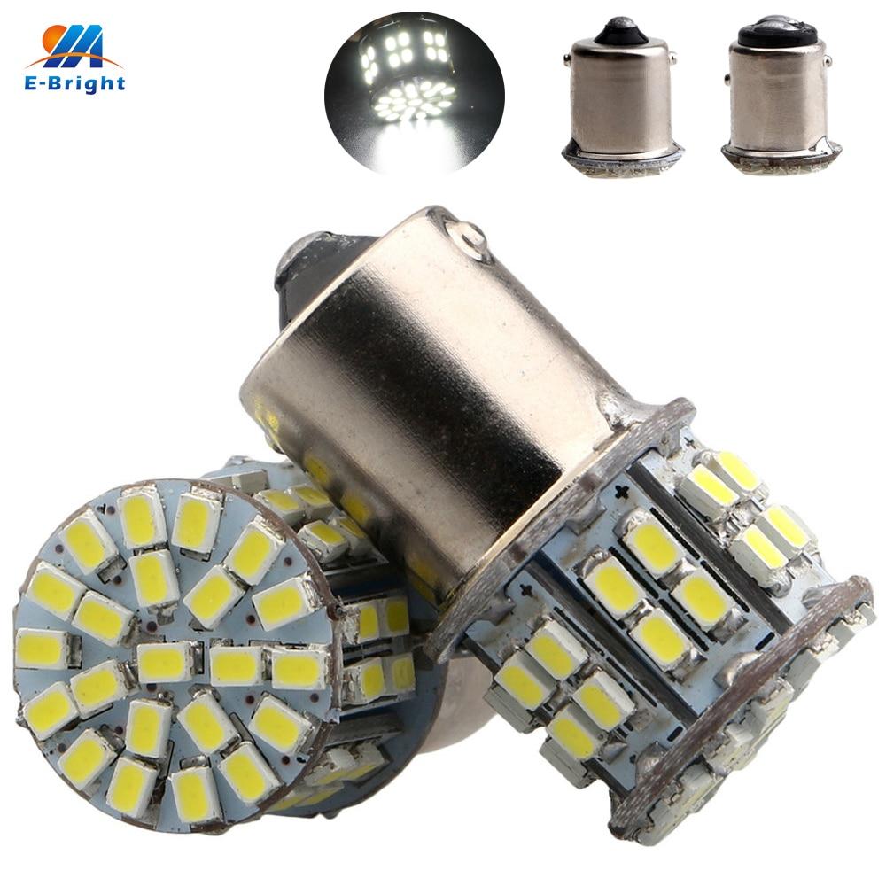 50 Uds 1156 BA15S p21w 1157 BAY15D p21/5 w 1206 50 SMD Led luces de freno de señal de giro Luz de reserva luces de estacionamiento 12V Auto bombillas