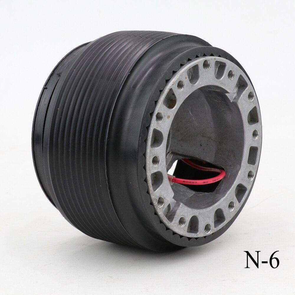 N-6 adaptador de cubo para volante jefe Kit (para Nissan 200SX S13 S14 S15 de R32 R33 GTR)
