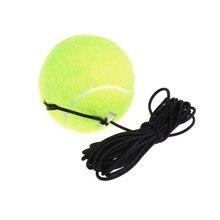 Nieuwe Groene Veerkracht Tennis Ballen Trainer Oefening Rubber Koord Elastische Band Rebound Training Tennis