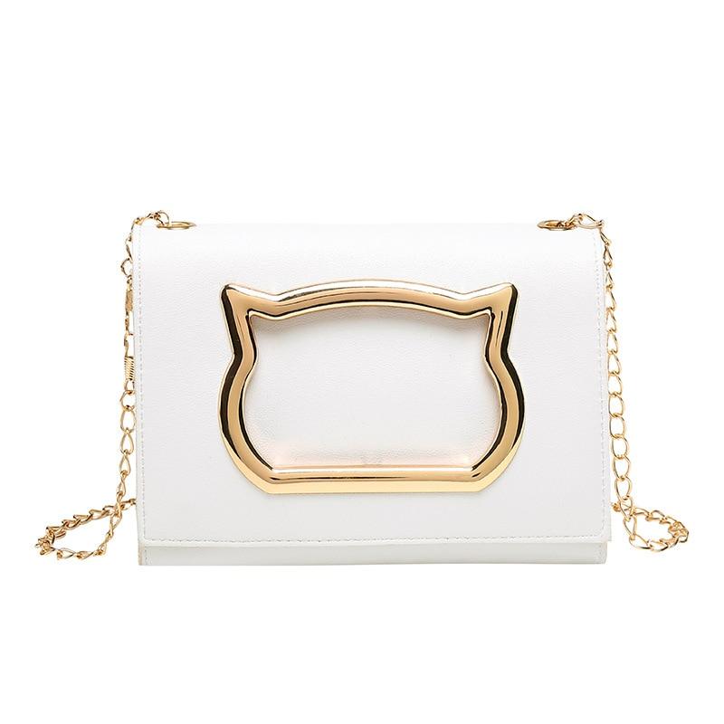 Женская сумка через плечо, новинка 2020, роскошные сумки, женские дизайнерские сумки для девочек, маленькая сумка-мессенджер с рисунком кота, сумка-мессенджер