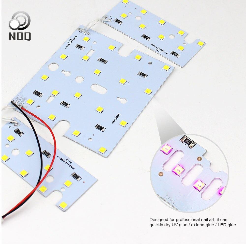 NOQ Sun3 lámpara para uñas Uv Led reemplazables, secador de uñas, esmalte de Gel, lámpara de curado, reemplazo de tableros de luz, accesorios de la hoja