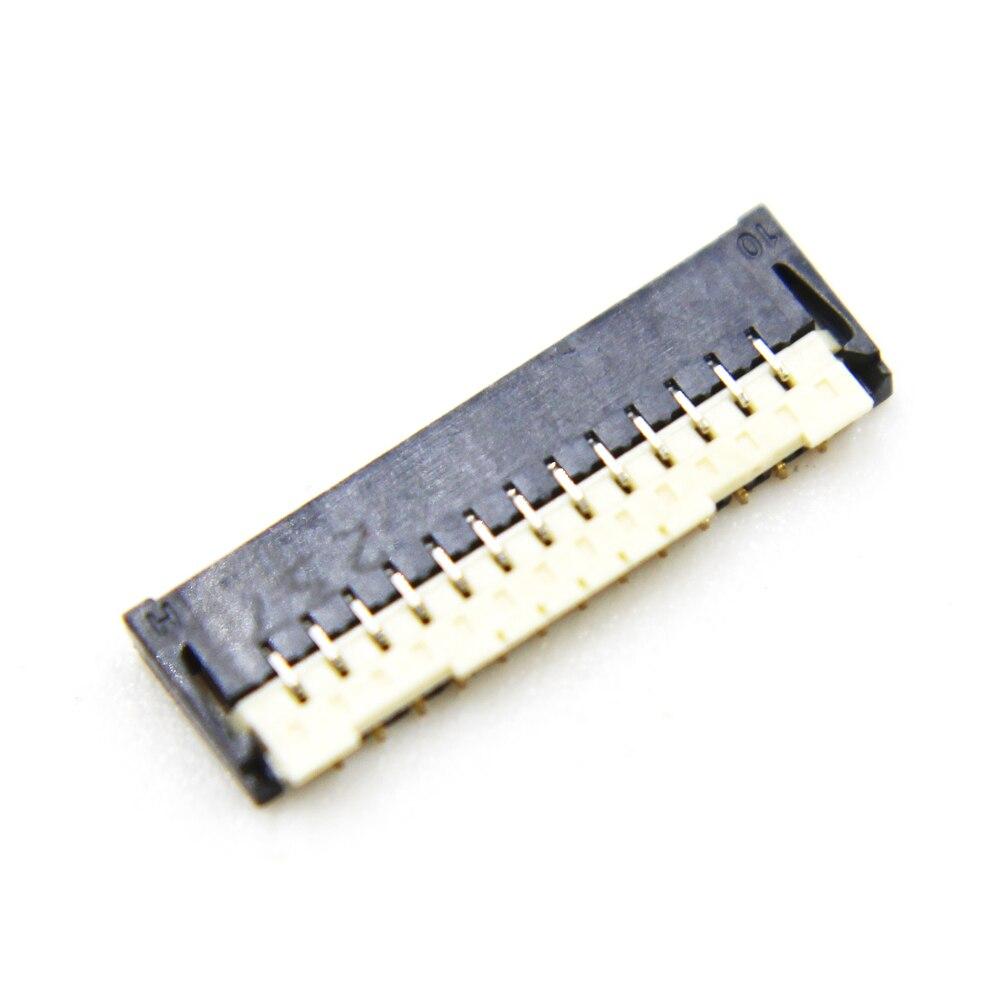 10ピース/ロットオリジナルlcdディスプレイfpcコネクタポートにメインボードasus zenfone2 ZE500KL Z00ED zenfone 2 27pin 27ピン