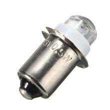 P13.5S 0.5 W LED pour Focus lampe de poche remplacement mise à niveau ampoule Torches lampe de travail 60-100Lumen DC3V 4.5 V 6 V C + D Cell