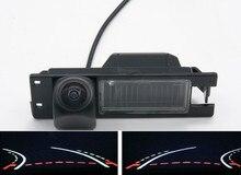 Fisheye-caméra de vision arrière de voiture   De trajectoire 1080P pour Opel Astra H J Corsa D Meriva A Vectra C Zafira B FIAT Grande Insignia