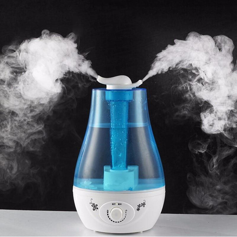 Двойной спрей увлажнитель воздуха 3л Арома эфирное масло диффузор