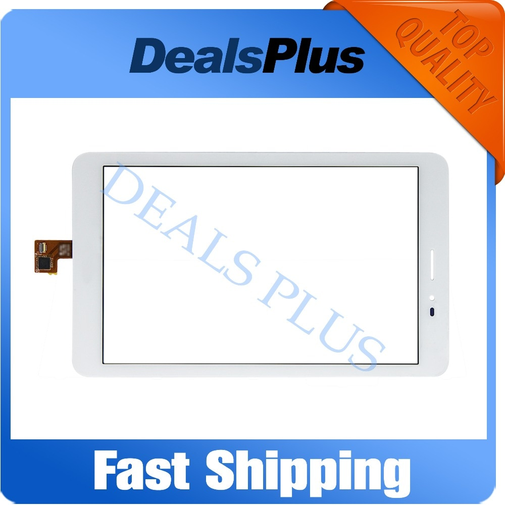 Reemplazo de nuevo digitalizador de pantalla táctil para Huawei Mediapad T1 8,0 3G S8-701u/Honor Pad T1 S8-701 negro blanco