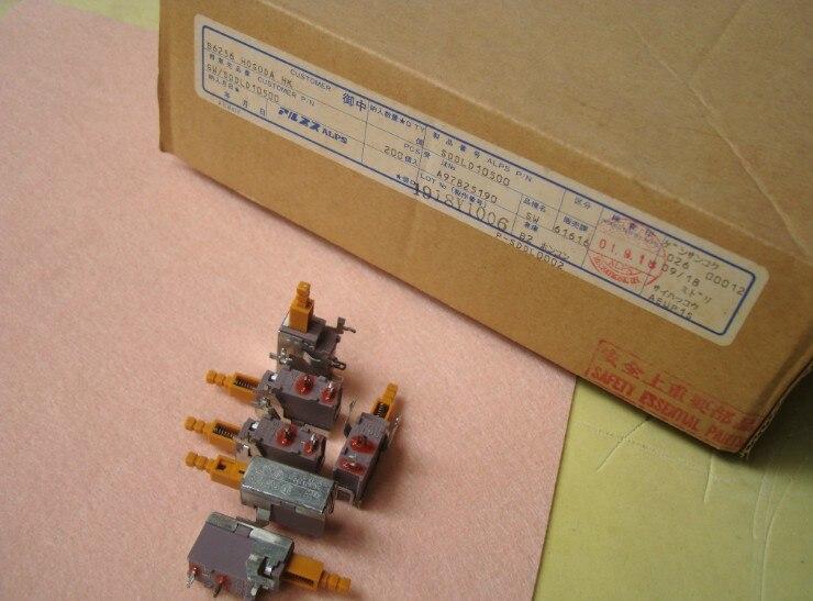 Carcasa de amplificador Japón Alpes interruptor de potencia SDL1P SDL1P-B SDL1P-D 5A 80A 250V TV-5 Alpes SDL1P