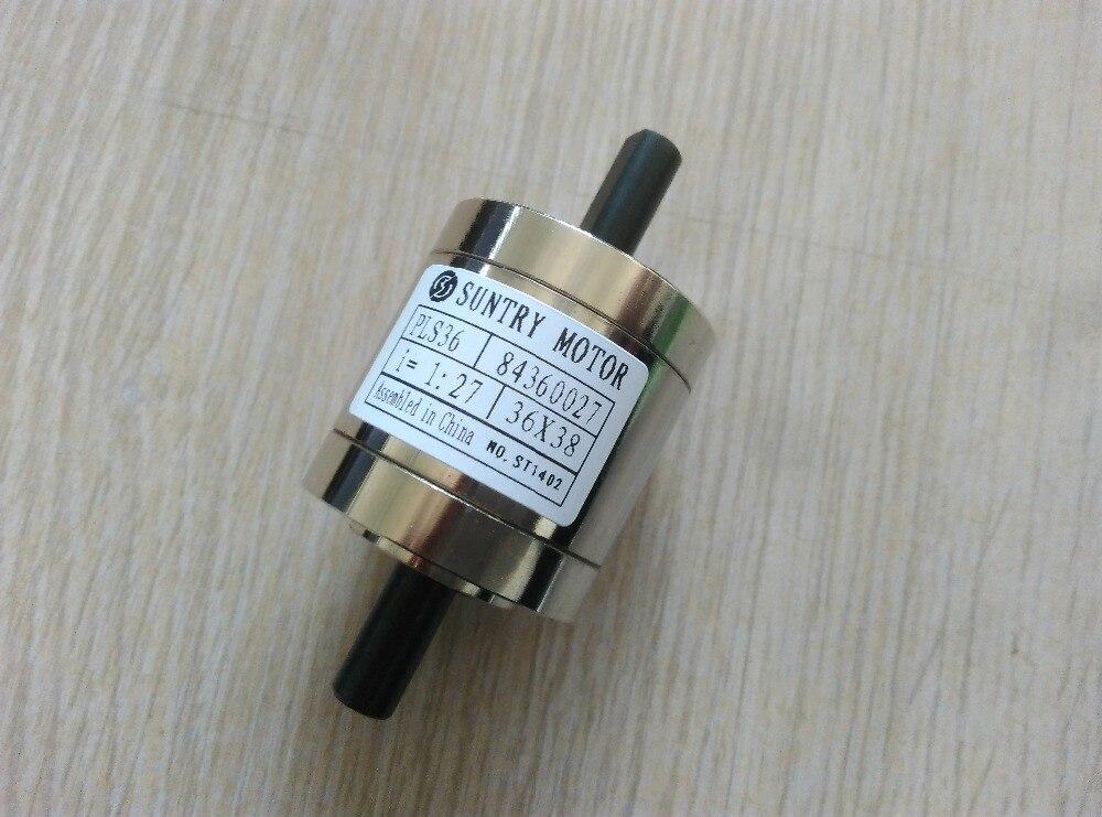 114 119 engranaje planetario de velocidad de doble eje planetario PLS36 caja de cambios planetaria de doble eje también utilizado como reductor de velocidad