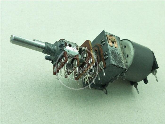 [Vk] teac3020 amplificador potenciômetro de volume lg b50k quad motor potenciômetro punho 25mmf 14 pés interruptor