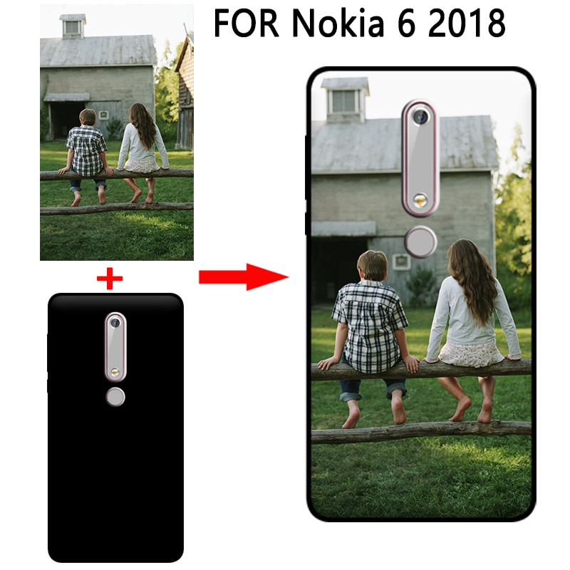 Mosirui personalizada DIY caso para Nokia 6 2018 HD UV impresión de la cubierta suave de silicona TPU para Nokia 6 2018 caso