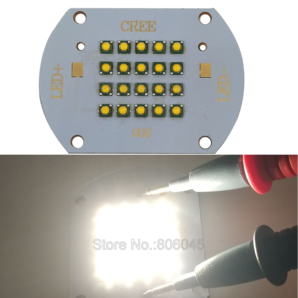 Cree XLamp XP-G XPG R5 100W Warm White 3000-3200K 30-36V 3000mA High Power LED Bulb Light Lamp Intergrated Light Source