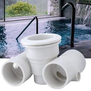 Swimming Pool Spa Nozzle Set PVC Accessories Massage Nozzle Gaskets Screw Thread Ring Drain Plugs Massage Pool Accessories