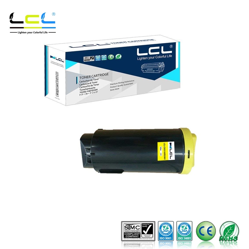 LCL Xerox Xerox VersaLink C500 C505 106R03862 106R03859 106R03860 106R038615000pages (1-pack) Cartucho de Toner Laser