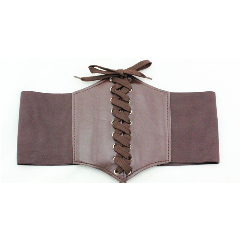 Corsé Sexy de cintura para mujer, cintura elástica, banda ancha, cinturón de cintura