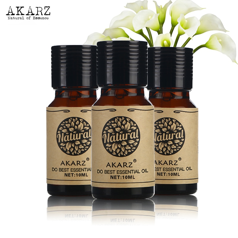 Aceite Esencial de clavo violeta Ylang, famosa marca AKARZ para aromaterapia, masaje, Spa, baño, cuidado facial, 10ml * 3