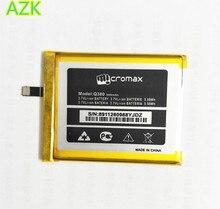 AZK nueva batería para Micromax Q380 batería 3000mAh alta calidad acumulador de teléfono móvil