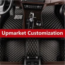 Tapis de sol imperméable pour Smart 2 Smart 4   Un ensemble de qualité supérieure, 3 couleurs, tapis de sol pour intérieur de voiture, autocollant pour doublure avant et après