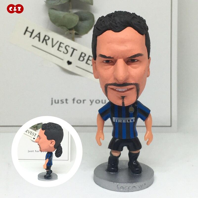 Figuras deportivas jugador 10 # IM baggo juntas movibles clásicas resina modelo juguete figura de acción muñecas coleccionables regalo