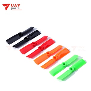 8 pairs DYS FPV Racing propeller T3030 CW/CCW PC Material Red Orange Props