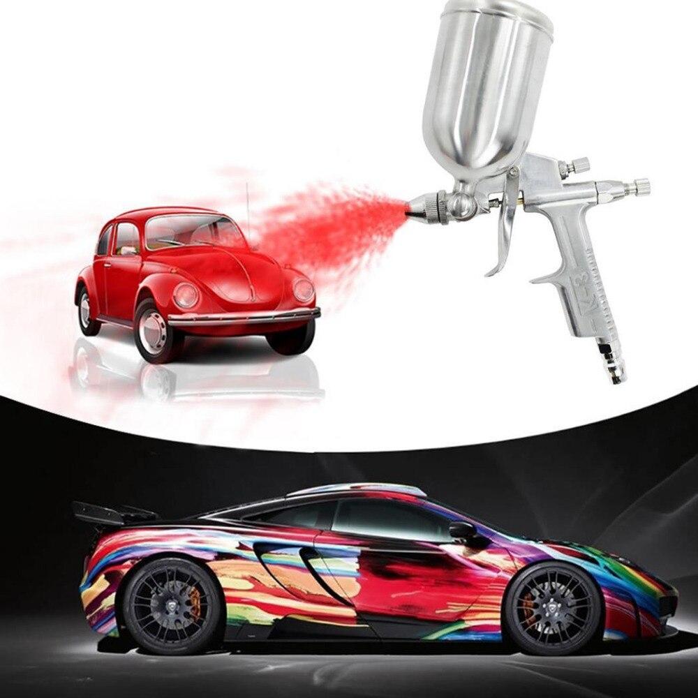 120ML spray ajustable pistola de pintura de alto grado de aerógrafo suave arma aerógrafo pistola de chorro de arena cepillo de aire