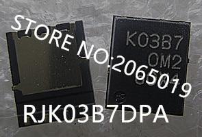 10 TEILE/LOS RJK03B7DPA RJK03B7 K03B7 KO3B7 QFN8