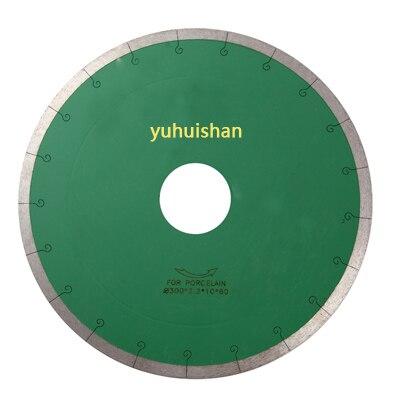 Cuchilla de borde sinterizado de diamante de 12 pulgadas/300mm para azulejos/herramienta de corte/afilada/hoja de sierra circular/eje 50mm