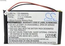Cameron Sino 1150mAh batterie 361-00019-02 pour Garmin Nuvi 600, 610, 610T, 650, 660, 660 FM, 670, 680