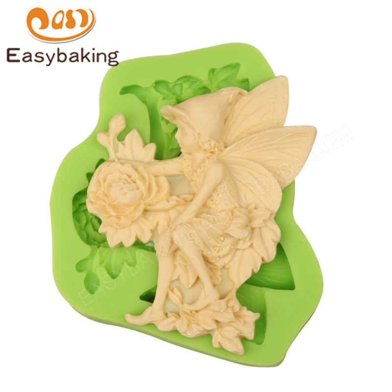 ¡Novedad! moldes de silicona flor para decoración de pasteles, Fondant, Cupcake, molde para golosina de chocolate, herramientas para hornear