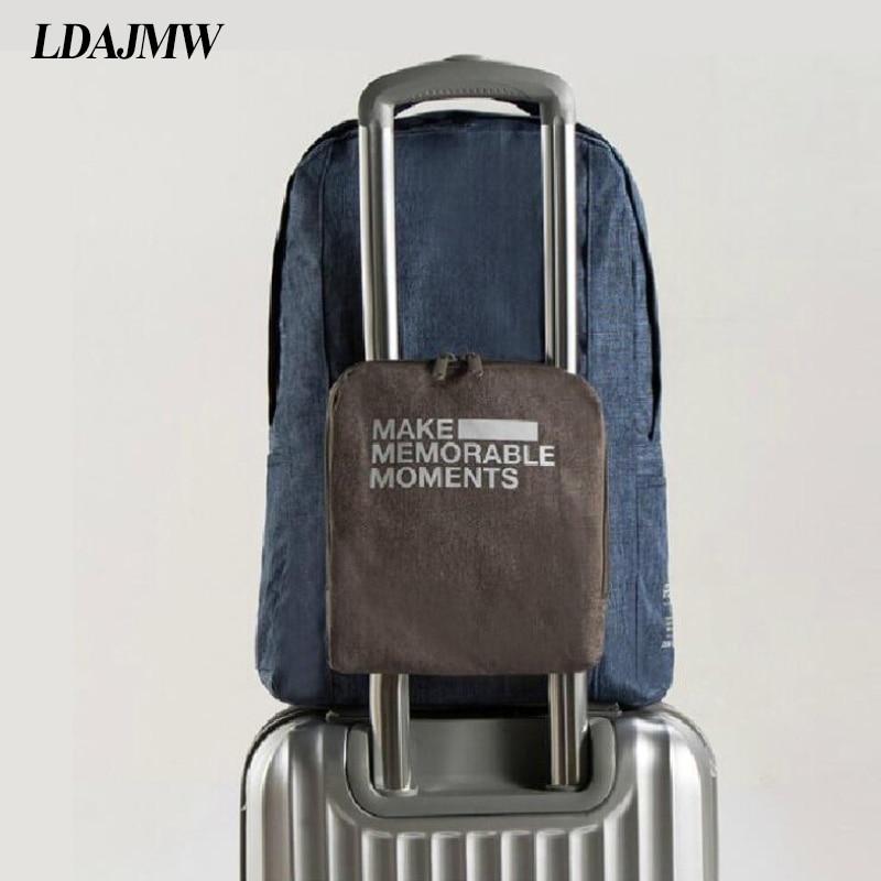 Bolso de hombro de viaje plegable portátil caliente LDAJMW, bolsa de almacenamiento de equipaje para hombres y mujeres, bolsa de registro, bolsa de hombro, organizadores de ropa