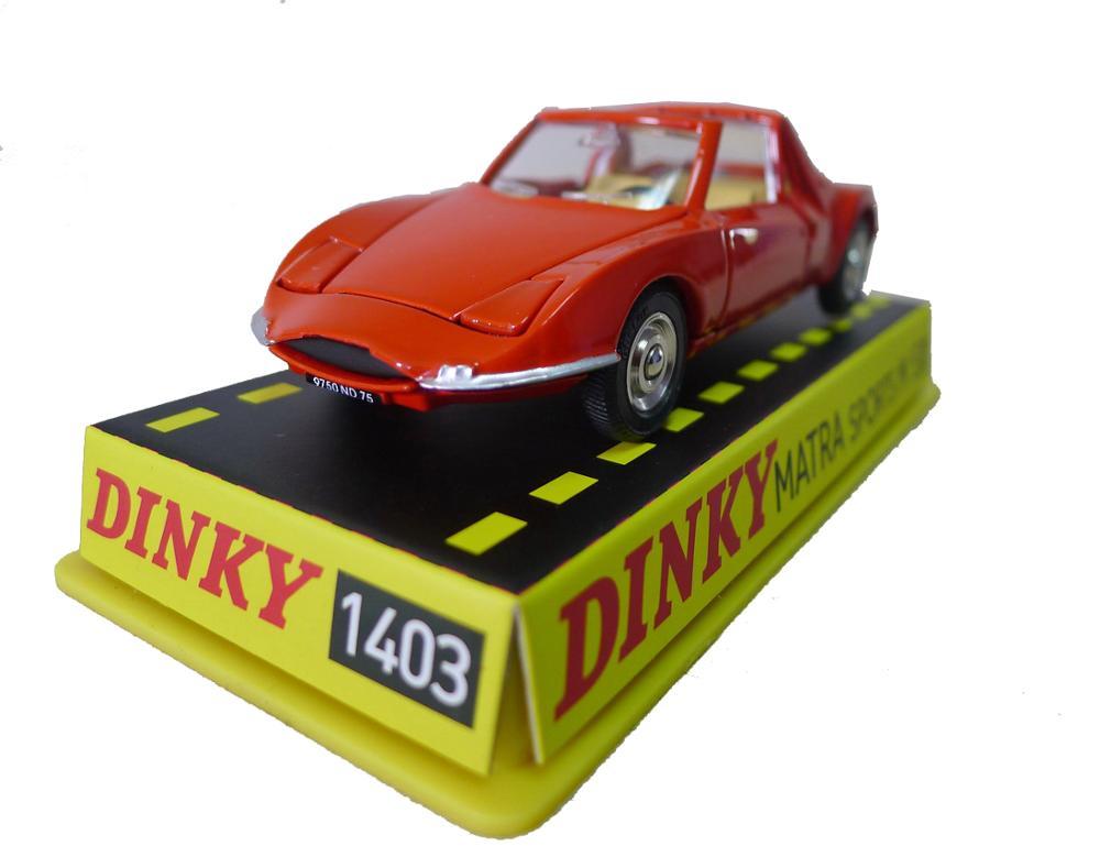 Atlas Dinky Toys 1403 MATRA 530 Cupê Brinquedos Fundidos 143