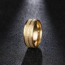 Женские кольца из нержавеющей стали DOTIFI, золотое/серебряное кольцо из нержавеющей стали 316L для помолвки и свадьбы
