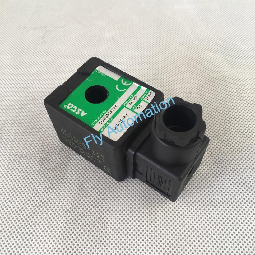 Соленоидный клапан SCG353A043 SCG353A044 ASCO 400325-117 220 В переменного тока, 50 Гц