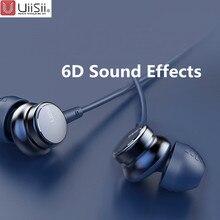 Uiisii hm7 hm9 in-ear fones de ouvido super bass fone de ouvido estéreo com microfone metal 3.5mm para iphone/samsung telefone go pro mp3