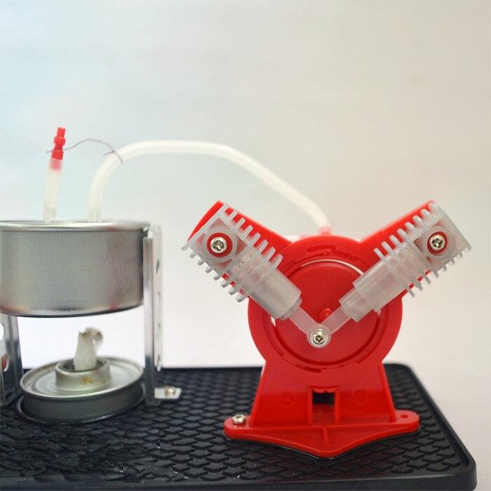Motor de vapor para niños de Stirling, experimento de ciencia experimental, juguetes de ensamblaje para enseñanza de física, enseñanza, educación