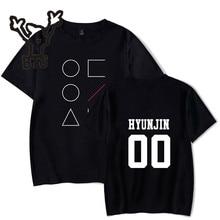 Hot Sale LOONA T-shirt Women Kawaii Kpop Funny Harajuku Fashion Short Sleeve Tshirt Casual Print Plus Size 4XL A7050