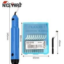 NICEYARD DIY Резак для кромок NB1100 в виде ручки для снятия заусенцев для медных трубок Ремер части инструмента нож для обрезки BS1010 скребок для заусенцев