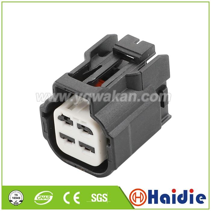 Envío gratis 2 sets 4pin Auto impermeable enchufe cable arnés conector de...