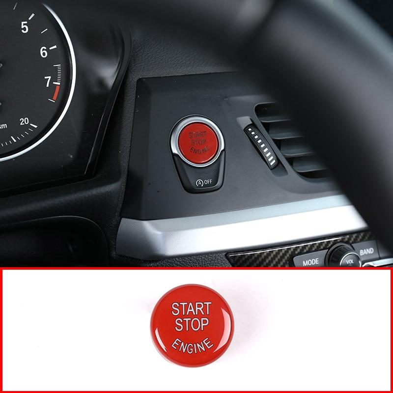 Für BMW F30 F10 F34 F15 F25 F48 X1 X3 X4 X5 X6 G30 Mit AUS-Taste Auto Motor Starten stop Taste Ersetzen Upgrade Teile
