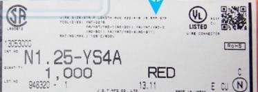 N1.25-YS4A الأحمر محطات موصلات محطة العلب 100% جديد و الأصلي أجزاء