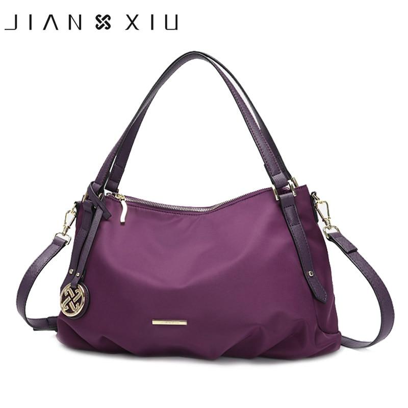 JIANXIU-حقائب يد نسائية فاخرة ، حقيبة قماش أكسفورد مقاومة للماء ، قابلة للطي ، تصميم مع تعليقة ، حزام كتف ، حقيبة حمل كبيرة