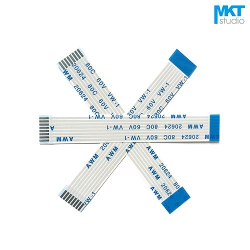 Гибкий плоский кабель FPC FFC, 10 шт., тип A/B 6/10/15/20/25/30/40 см, 1,0 мм, 4/6/8/10/12/14/16/18/20/24/26/30/32P