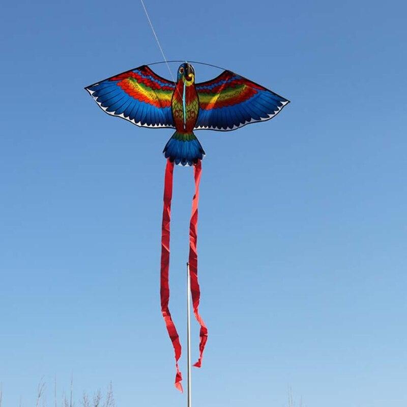 Loro nuevo cometa pájaro cometas Aire Libre vuelo de cometas juguetes cometa para los niños de los niños