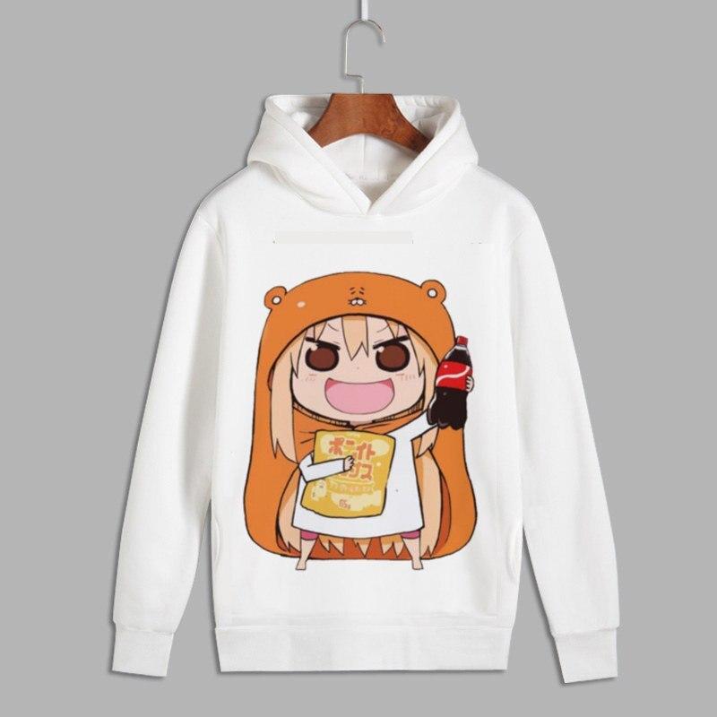¡Himouto! Umaru-chan Cosplay Umaru Doma imprimir Pullover Hoodie sudaderas hombres mujeres Unisex Fleece Hoody para otoño