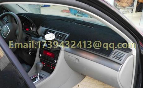 Dashmats, accesorios de estilismo para coche, cubierta de tablero para Audi S4 A4 rs4 Avant b6 b7 2004 2005 2006 2007 2008